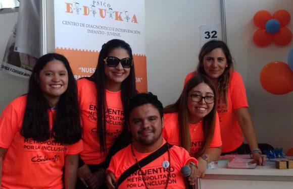 Psicoeduka  participó en 9º Encuentro Metropolitano por la Inclusión