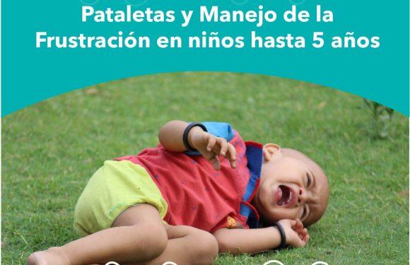 Pataletas y manejo de la frustración en niños pequeños
