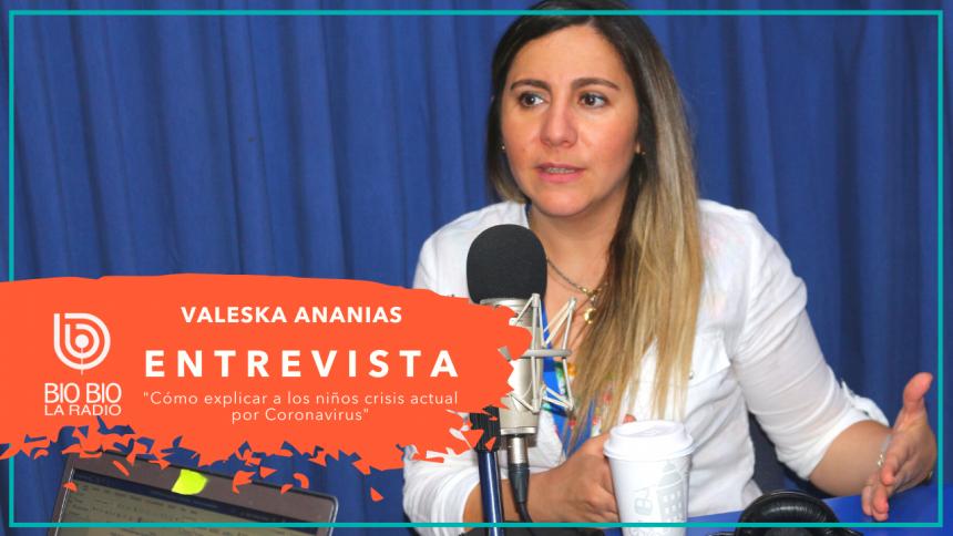 """Radio Bio Bío Valparaíso: """"Cómo explicar a los niños la crisis del Coronavirus"""""""