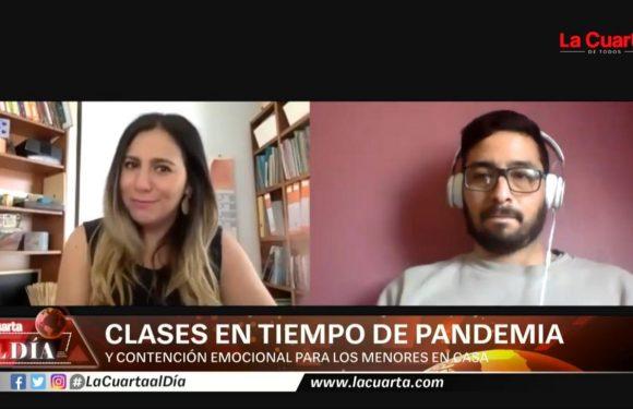 La Cuarta TV: Clases en tiempos de pandemia