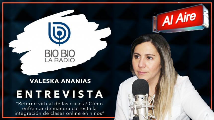 Radio Bio Bío: Retorno virtual de las clases ¿Cómo enfrentarlo de manera correcta con los niños?