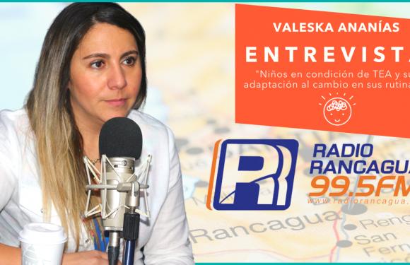 Radio Rancagua: Niños en condición de TEA y su adaptación al cambio en sus rutinas