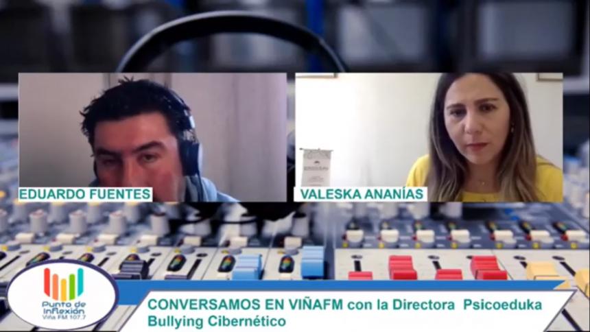 Radio Viña FM: Bullying cibernético en la infancia y la adolescencia