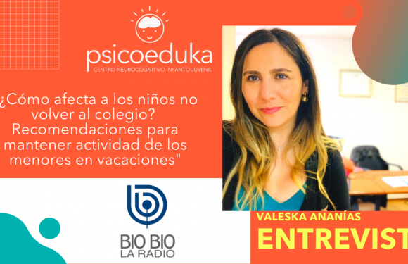 Radio Bio Bío: ¿Cómo afecta a los niños no volver al colegio?