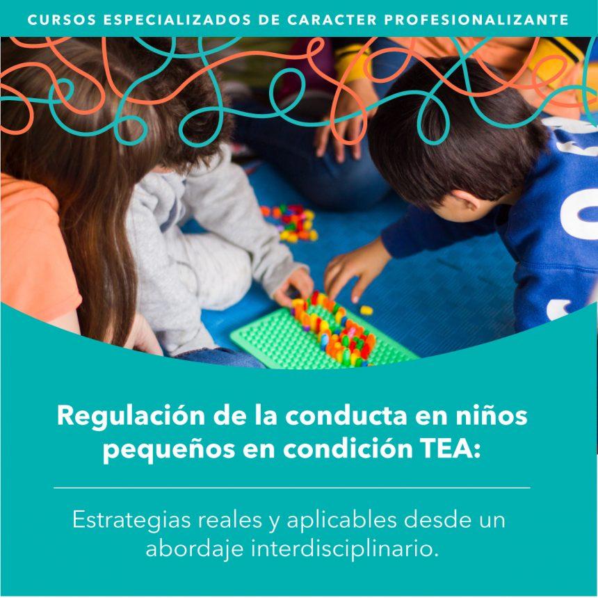 SANTIAGO: Regulación de la conducta de niños pequeños en condición de TEA