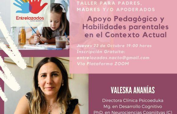 Taller en línea de Valeska Ananías para Entrelazados Nacimiento